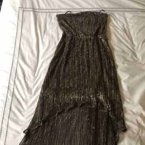bebe Dresses - Strapless sparkly dress